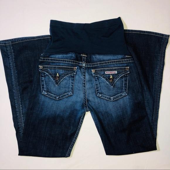 Hudson Jeans Denim - Hudson A Pea In The Pod Maternity Flare Leg